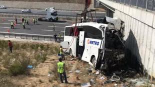 5 kişinin öldüğü otobüs kazası ''geliyorum'' demiş!