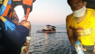 Yunan askerinin ateş açtığı teknenin görüntüleri ortaya çıktı