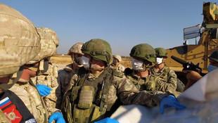 Türk ve Rus askerleri ortak devriye yaptı