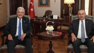 Çavuşoğlu, BM 75'inci Genel Kurul Başkanı Bozkır ile görüştü