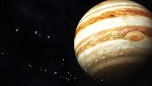NASA'nın Jupiter fotoğrafı sosyal medyada olay oldu! Pizzaya benzetildi