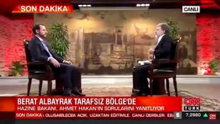 Bakan Albayrak'tan Ahmet Hakan'a: ''Dolarla mı maaş alıyorsunuz ?''