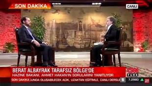 Berat Albayrak'a Ahmet Hakan kalkanı!