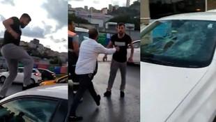 Trafikte kadın sürücüye saldıran magandanın ifadesi ortaya çıktı
