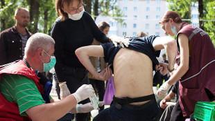 Belarus'ta polis, göstericilere şiddet uyguluyor!