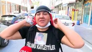 Öldürülen oğlu için yalın ayak Ankara'ya gidiyor