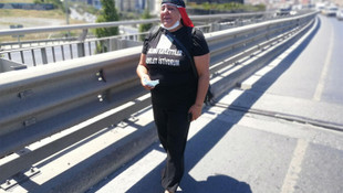 Bir annenin adalet arayışı! Oğlu için yalın ayak Ankara'ya yürüyor