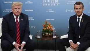 Trump ve Macron, Türkiye ve Yunanis'tan arasındaki gerginliği görüştü
