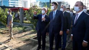 Bakan Kurum yerinde inceledi! İstanbul'da bir ilk