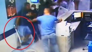 Hastanede dehşet! Güvenlik görevlisi ve doktora saldırı