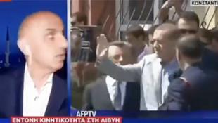 A Haber muhabiri Yunanistan'da kahraman ilan edildi!