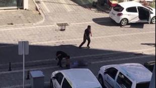Sokak ortasında kan donduran cinayet