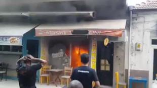 İzmir'de iş yerinde patlama!