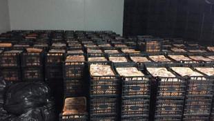 Fakirlere dağıtacağız deyip 41 ton et toplamışlar!