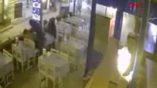 Kameraların önünde kadını döven saldırgan serbest!