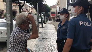 Vatandaşın maske takmama bahanesi ''pes'' dedirtti
