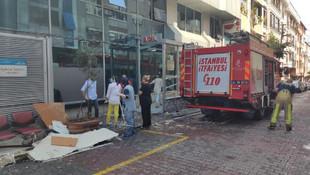 İstanbul'da özel hastanenin tavanı çöktü!