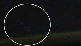 Uluslararası Uzay İstasyonu'nda UFO sürprizi!