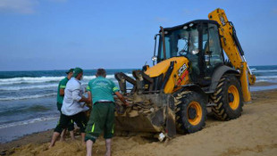 Sarıyer Belediyesi Karadeniz'i çöplerden kurtardı