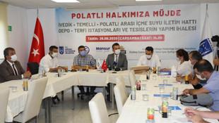 Polatlı halkına müjde: İlçenin suya hasretini bitirecek ihale yapıldı