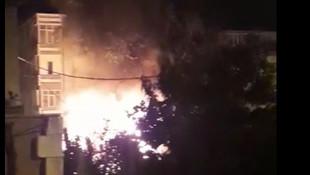 Başakşehir'de gecekondu yangını! 6 kişi ölümden döndü