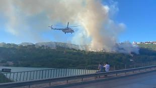 Maltepe'de korkutan yangın!