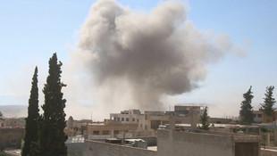 Rusya İdlib'i vurdu: 4 ölü!