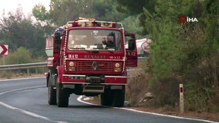 İzmir'deki orman yangınının şiddeti gün ağarınca ortaya çıktı