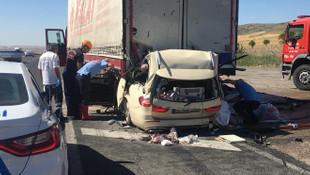 Ankara'da korkunç kaza: 5 kişi hayatını kaybetti