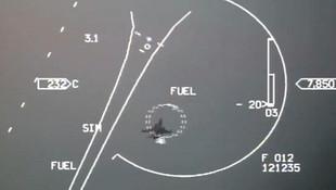 Yunan jetlerini kovalayan Türk pilot, yakıt uyarısına rağmen geri dönmedi