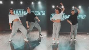 Demet Özdemir'in dans videosu sosyal medyayı salladı