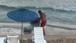 Türkiye'nin tatil cennetinde skandal görüntüler