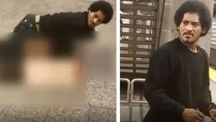 Metroda tecavüz girişimi kamerada!