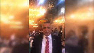 Ayasofya'nın ''maskesiz'' milletvekili virüse yakalandı
