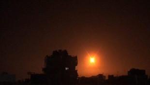 İsrail savaş uçakları Suriye'yi vurdu