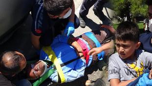 Samsun'da korkunç kaza! Pikniğe giden aile ölümden döndü
