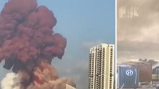 Beyrut'ta şiddetli patlama: Çok sayıda ölü ve yaralı var