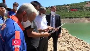 Gülistan'ı su altı arama çalışmaları 215'inci günde tekrar başlatıldı