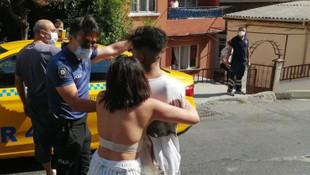 Kendisini döven sevgilisi için polise direndi!