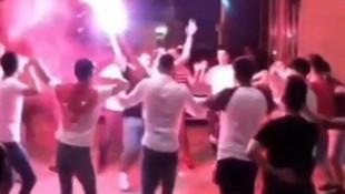 Bursa'da şoke eden görüntüler! Sosyal mesafesiz eğlence