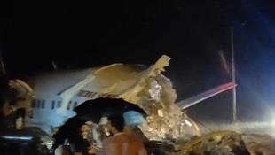 Hindistan'da uçak kazası: 14 ölü, 123 yaralı