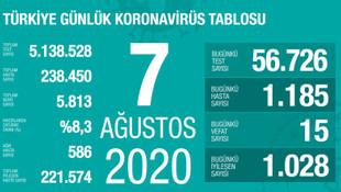 Vaka sayısı artmaya devam ediyor! İşte son 24 saatin koronavirüs bilançosu
