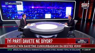 İYİ Parti'den, Cumhurbaşkanı Erdoğan'ın davetine canlı yayında yanıt