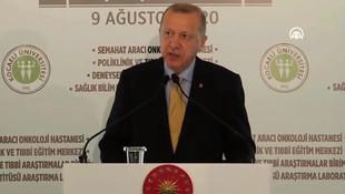 Erdoğan'dan vatandaşlara uyarı: ''Yanlış yapıyorsunuz!''