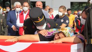 Şehit Furkan Erbil'in cenazesi son yolculuğuna uğurlandı