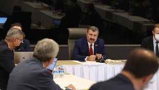 Bakan Koca'dan İstanbul'da koronavirüs toplantısı