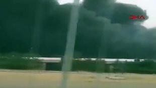 Ankara'da büyük yangın!