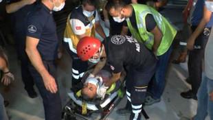 İstanbul'da metro şantiyesinde kaza