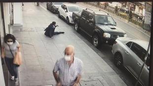 Fatih'te dehşet! Silahlı çatışmanın görüntüleri ortaya çıktı
