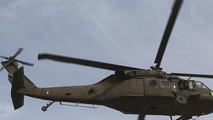 Suriye'de ABD helikopteri düştü